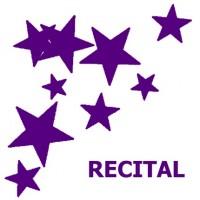 Recital clipart